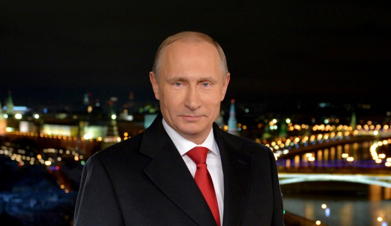 Путин пожелал россиянам перемен к лучшему в Новом году