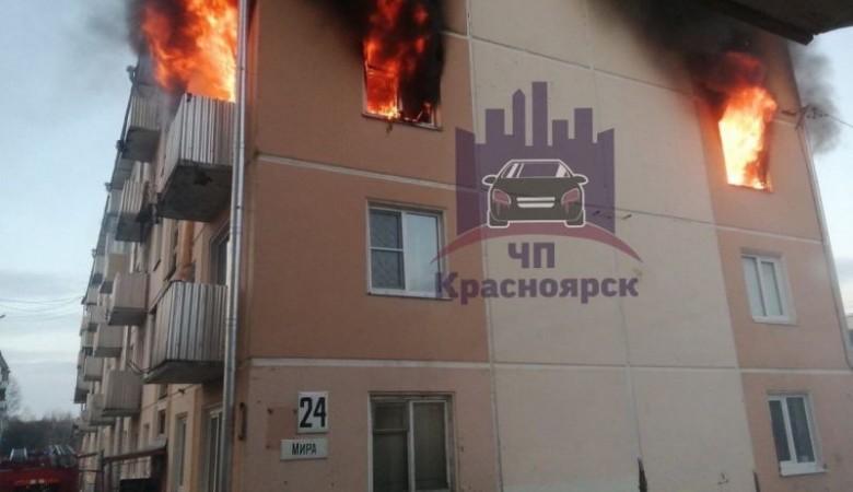 Человек погиб при взрыве газа в пятиэтажке под Красноярском