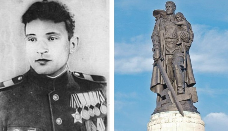 В Кемерове установят памятник герою войны, спасшему девочку во время штурма Берлина