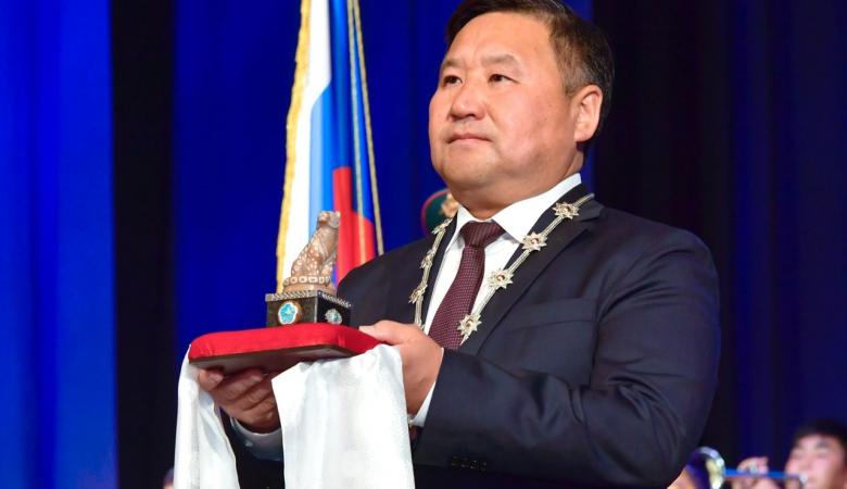 Ховалыг вступил в должность главы Тувы