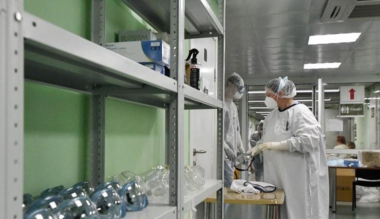 В России выявили новый антирекорд по числу пациентов с COVID-19 за сутки