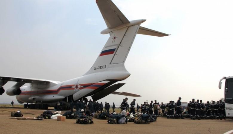 Для тушения лесов Бурятии прибыли еще 150 пожарных