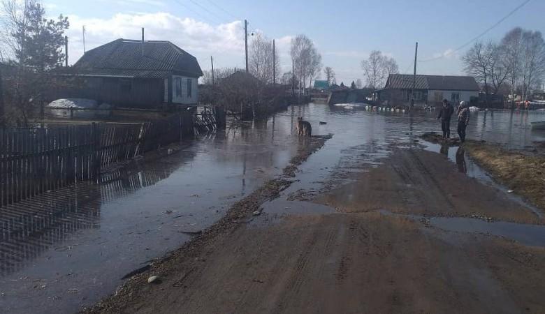 В Алтайском крае подтоплены три поселка