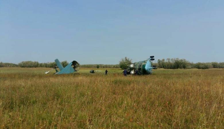 Военный вертолет Ми-26 разбился в Якутии