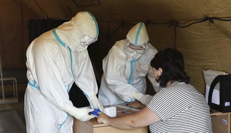 Военный COVID-госпиталь, развернутый в Хакасии, уже заполнен на три четверти